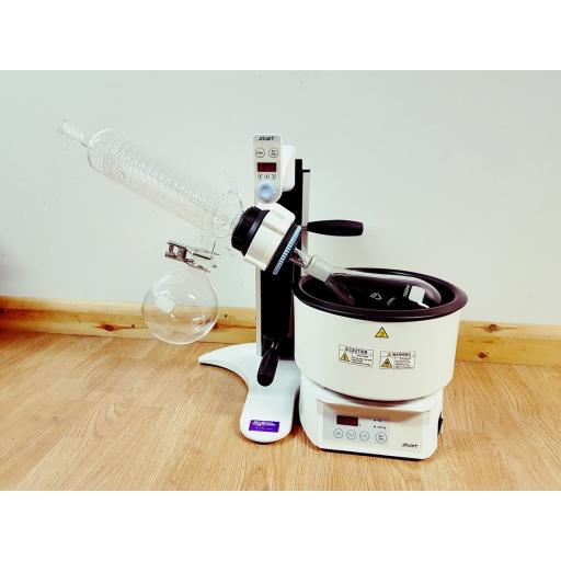 Rotary Evaporator - Angled condesner